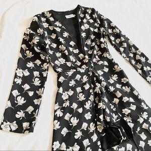 Lioness Drop Dead Long Sleeve Maxi Dress - XS